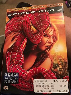 Spider-Man 2 Special Edition (2004) Dvd 2 Disc Brand New Sealed + Slipcover!