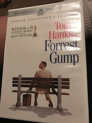 2 Disc DVD Set: Tom Hanks Is Forrest Gump: Special Collector's Edition LIKE NEW!