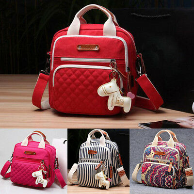 Mummy Backpack Handbag Tote Shoulder Bags Multifunction Baby Nappy Diaper Bag