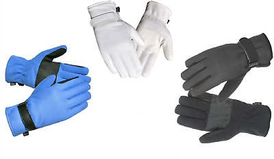 Winter Horse Riding Long Cuff Gloves with 70gms of Thinsulate & Grippy Palms
