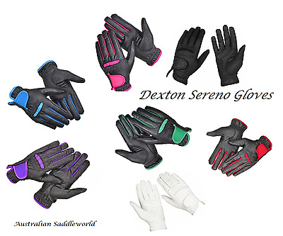 Dexton Sereno Championship Riding Gloves Men's, Ladies & Kids Sizes