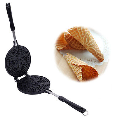 Mold Maker Sweet Waffles Baking Waffle Russian Cookies Form Iron Ussr Pastry New