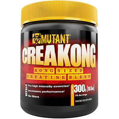 Pvl Mutant Creakong Creatine 300G 75 Serv Muscle Pump Strength