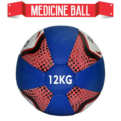 10KG Medicine Ball No Bounce Crossfit Heavy Duty Fitness Gym Exercise BoxingBall