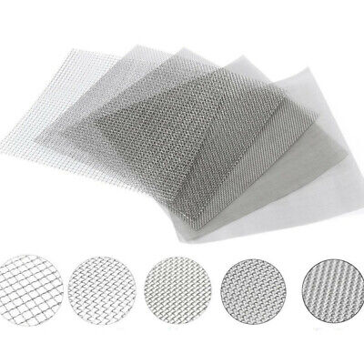 10/100/300/500 Mesh Stainless Steel Filtration Wire Cloth Screen Filter Tool Set
