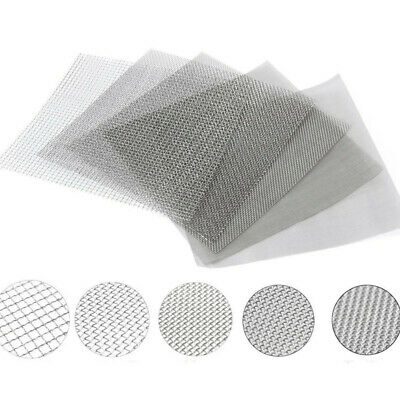 100/300/500 Mesh 304 Stainless Steel Filtration Wire Woven Cloth Screen Filter