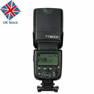 UK Godox 2.4G HSS GN60 TT600S Camera Flash Speedlite for Sony  A7II A7 A7r A6000