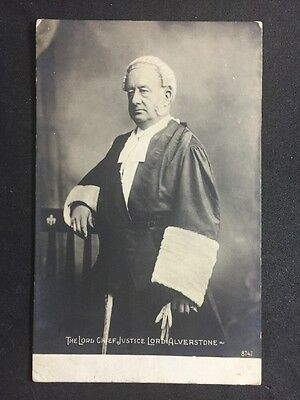 Vintage Postcard: Historical Figure: #A45 : Real Photo: Judge Lord Alverstone