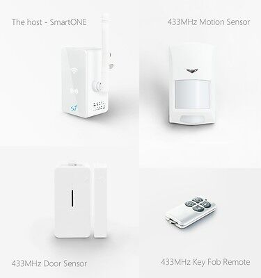 Broadlink S1/S1C SmartOne Alarm&Security Kit For Home Smart Home Alarm System IO