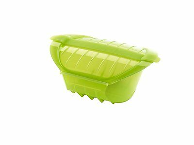 Lékué Ogya Extra-Large Microwave Pot, 1L, Green