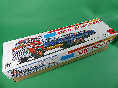 K.K. Japan - Friction Powered Auto Transport- 38cm - mint in Box - NOS Lagerfund