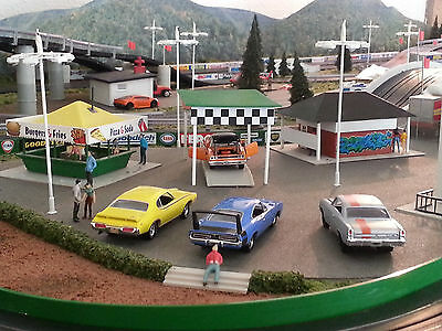 Aurora Model Motoring 4X8 Layout Slot cars TYOC AFX will be dismantled for you.