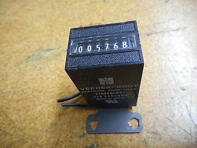 Veeder-Root 779096-001 6 Digit Counter 115VAC 5VA Used With Warranty