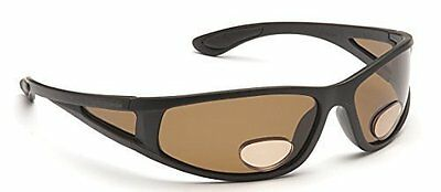 Polarised Sports Fly Fishing Bifocal Sunglasses 2.00 / 2.50 inc Pouch Cloth Cord