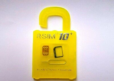 R-SIM 10+ Unlock and Activation SIM Card for iPhone With Retail Packaging