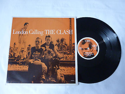 "The Clash ~ London Calling ~ Ex/vg+ ~ '88 Uk 12"" Punk Vinyl Single ~ Great Audio"