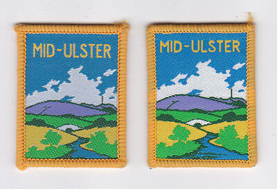 Scouts Of Northern Ireland - Uk Ulster Scout County Londonderry Mid-Ulster Patch