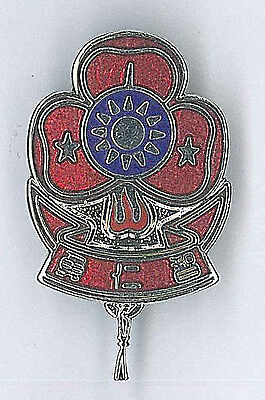 GIRL SCOUTS OF PHILIPPINE LEADER /& GUIDES Metal FLAG Uniform Pin Patch GSP