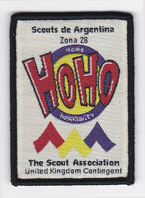 1999 World Scout Jamboree UK / BRITISH SCOUTS Delegation HOME HOSPITALITY Patch