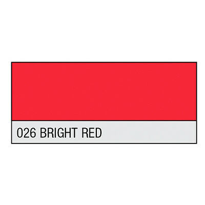 LEE Filter Rolle 026 Bright Red 1260x7620 mm