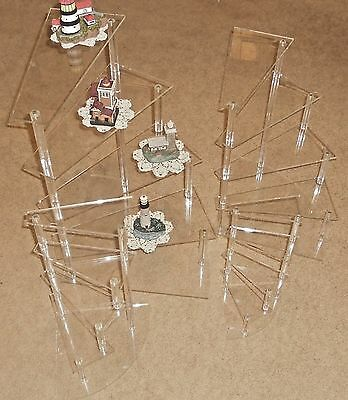 Acrylic Spiral Staircase Display Various Sizes