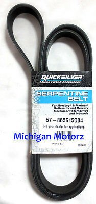 "Genuine MerCruiser Serpentine Belt, 37"" - Replaces 57-8638764; 57-865615Q04"
