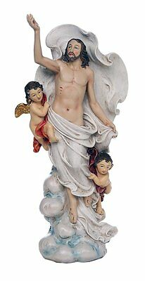 Ascension of Christ Jesus Christians Catholic Religous Figurine Sculpture 12""