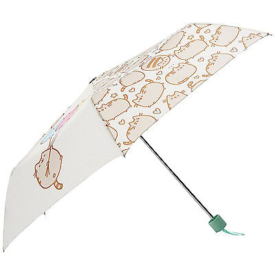 Pusheen Umbrella Folding Telescopic Handbag Size Cat Kitten Comic App Official