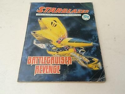 Starblazer Comic No.14 Battlecruiser Revenge