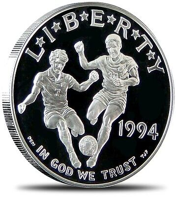 1994 World Cup Silver Dollar Proof Set