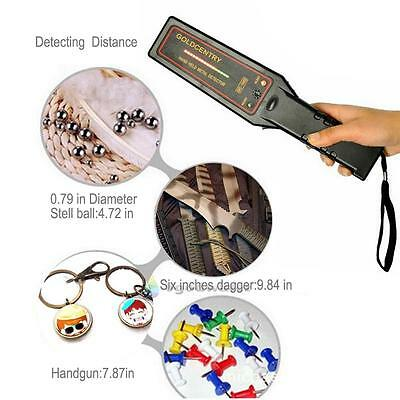 New Pro Portable Handheld Security Metal Detector Hand Held Scanner hunter Wand