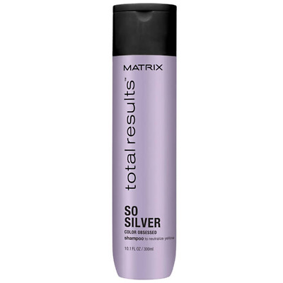 Shampoo Antigiallo Capelli Biondi MATRIX Color Obsessed So Silver Shampoo 300 ml