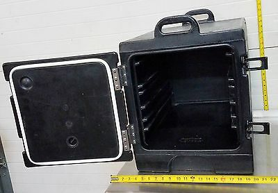 Cambro Front Loader Insulated Food Catering Cater Pan Carrier Black Gobox