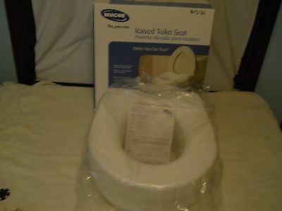 Invacare 1300Rts Latex Free 300Lbs Capacity Raised Toilet Seat, 1 Each