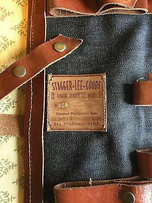 Stagger Lee Goods Leather Tool Roll