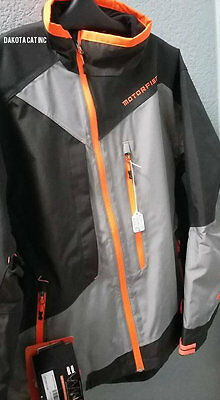 NEW Motorfist Rekon Jacket Limited Edition OuterShell Grey/Orange Non Insulated