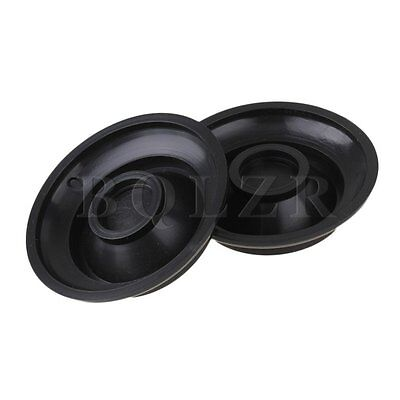 Plastic Caster Cups for Piano 1 set of 4 BLK