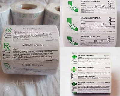 RX Medical Labels for Squeeze tops and Pop Tops UK listing Fast Dispatch