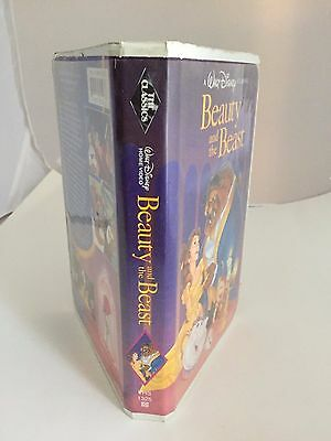 RARE!!!! Beauty and The Beast 1992 VHS Walt Disney Classic Black Diamond!!!!