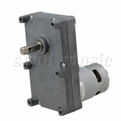 BQLZR Low Speed Electric Geared Motors DC12V 2.5RPM Metal Gearbox Motor