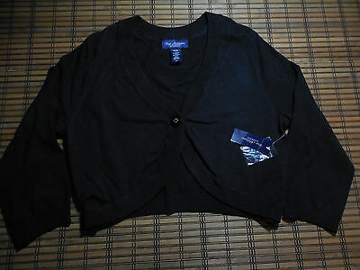 NEW ADDITIONS Maternity button sweater black size medium NWT
