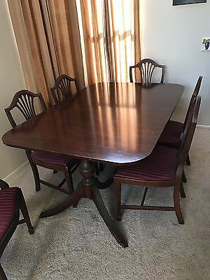 Dining Table, Red Mahogany