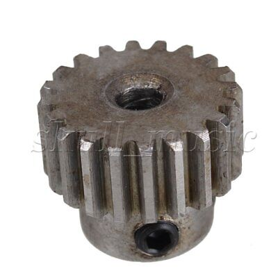 2 pcs 5mm Hole Diameter Motor Metal Gear Wheel Modulus 1 20 Teeth Steel Gear
