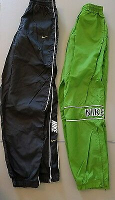 Vintage Nike pants LOT zip ankles Small S EXCELLENT