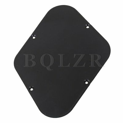 BACKPLATE/ ABS INSULATED/ BLACK For Electric Guitar