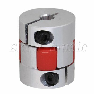 6 x 6mm CNC Plum Coupling Shaft Coupler D25L30 for Engraving Machine
