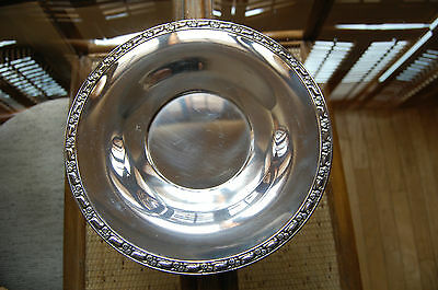 Vintage Oneida Silverplate with Floral Rim Serving Plate