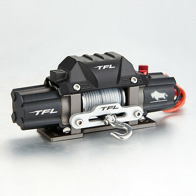 TFL RC Scale 1/10 Electric Winch With Twin Motor Alloy Metal For RC Rock Crawler