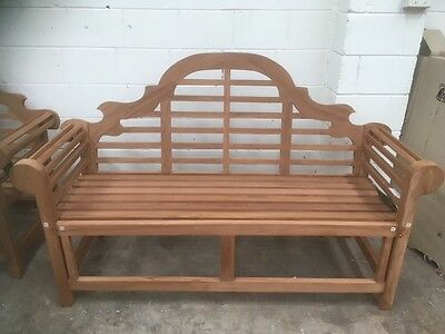Marlborough Bench,  Brand New,  Solid Teak rrp $699