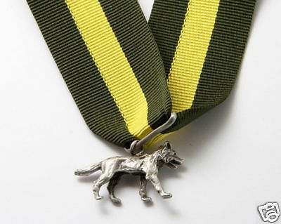 SCOUTS OF BELIZE Scout Leader / Commissioner SILVER WOLF Highest Rank Top Medal